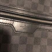Louis Vuitton Damier Graphite Black Canvas Michael Backpack Lust4Labels 1