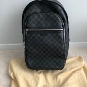 Louis Vuitton Damier Graphite Black Canvas Michael Backpack Lust4Labels 13