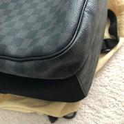 Louis Vuitton Damier Graphite Black Canvas Michael Backpack Lust4Labels 14