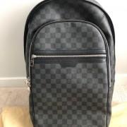 Louis Vuitton Damier Graphite Black Canvas Michael Backpack Lust4Labels 15