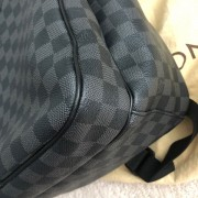 Louis Vuitton Damier Graphite Black Canvas Michael Backpack Lust4Labels 16