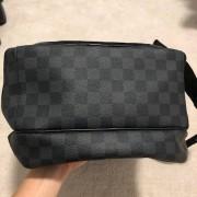 Louis Vuitton Damier Graphite Black Canvas Michael Backpack Lust4Labels 3
