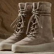 Yeezy Season 2 Taupe Suede Beige Crepe Boots SZ 5 Womens Lust4Labels 12