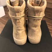 Yeezy Season 2 Taupe Suede Beige Crepe Boots SZ 5 Womens Lust4Labels 4