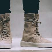 Yeezy Season 2 Taupe Suede Beige Crepe Boots SZ 5 Womens Lust4Labels 9