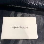 Yves Saint Laurent Black Patent Leather Belle Du Jour Bag Clutch Lust4Labels 11
