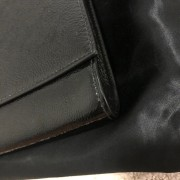 Yves Saint Laurent Black Patent Leather Belle Du Jour Bag Clutch Lust4Labels 8