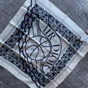Air Jordan Dior White Blue Silk Bandana Square Scarf Lust4Labels 1