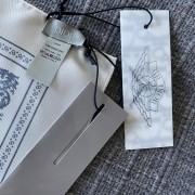 Air Jordan Dior White Blue Silk Bandana Square Scarf Lust4Labels 4