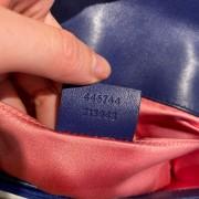 Gucci GG Marmont Matelasse Velvet Blue Bag Purse GHW Lust4Labels 12