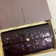 Louis Vuitton Vernis Amarante Sarah Continental Wallet Lust4Labels 2