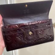 Louis Vuitton Vernis Amarante Sarah Continental Wallet Lust4Labels 3