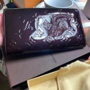 Louis Vuitton Vernis Amarante Sarah Continental Wallet Lust4Labels 5