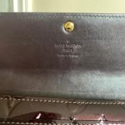 Louis Vuitton Vernis Amarante Sarah Continental Wallet Lust4Labels 8