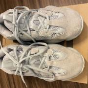 Yeezy Adidas 500 Sneakers Shoes Salt SZ 4.5 Lust4Labels 3