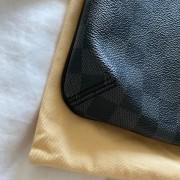 Louis Vuitton Black Damier Graphite Thomas Messenger Bag Lust4Labels 3