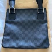 Louis Vuitton Black Damier Graphite Thomas Messenger Bag Lust4Labels 5