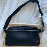 Louis Vuitton Mens Black Damier Geant Acrobat Pouch Bag Lust4Labels 1