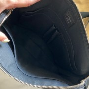 Louis Vuitton Mens Black Taiga Leather Grigori MM Messenger Bag Lust4Labels 18